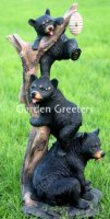 picture of BEAR FAMILY STATUE