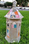 picture of MOSAIC BIRDHOUSE-BO