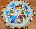picture of MOSAIC STEPPING STONE MOSAIC WALL ART MOSAIC WALL DECOR-bhbb