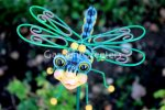 picture of DRAGONFLY GARDEN STAKE - MEDIUM