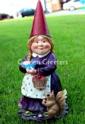 picture of MRS. GNOME STATUE/MRS. GNOME FIGURINE