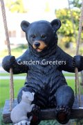 picture of BEAR ON SWING