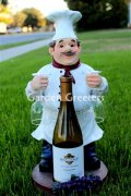 picture of CHEF WINE & GLASS HOLDER