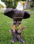 picture of LARGE AMERICAN BALD EAGLE STATUE