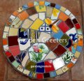 picture of MOSAIC STEPPING STONE MOSAIC WALL ART MOSAIC WALL DECOR-Funk