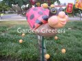 picture of LADYBUG GARDEN STAKE - LARGE