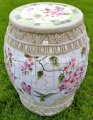 picture of MOSAIC GARDEN STOOL MOSAIC PLANT STAND-hb