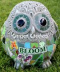picture of LARGE OWL MOSAIC STATUE OWL MOSAIC