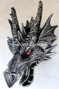 picture of DRAGON HEAD WALL MOUNT STATUE
