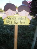 picture of CUTEST KIDS SIGN
