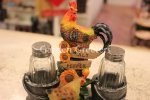 picture of CHICKEN ROOSTER SALT & PEPPER SHAKER