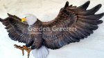 picture of AMERICAN BALD EAGLE WALL PLAQUE STATUE