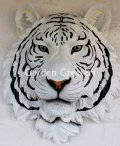 picture of WHITE TIGER HEAD WALL MOUNT STATUE