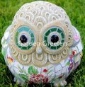 picture of OWL MOSAIC STATUE-fl