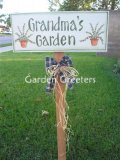 picture of WELCOME TO GRANDMA'S GARDEN