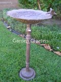 picture of CAST IRON BIRDBATH