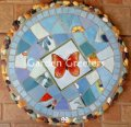 picture of MOSAIC BUTTERFLY STEPPING STONE MOSAIC WALL DECOR-bb